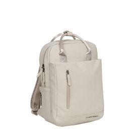 New-Rebels ® Harper - Backpack - Laptoptas - Rugtas - 9 Liter -  Beige