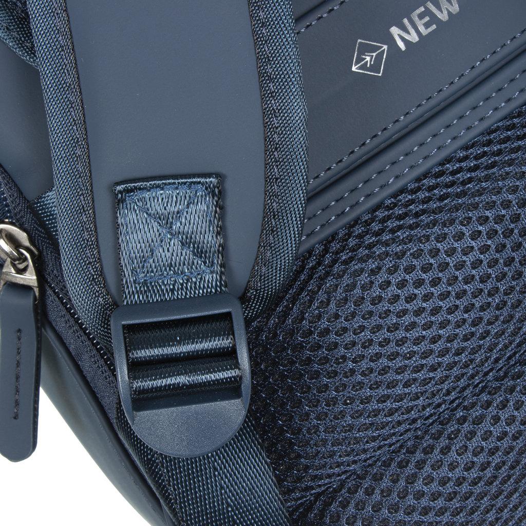 New-Rebels ® Harper - Backpack - Laptop compartiment - 9 Liter - 28x8x38 - Navy Blue