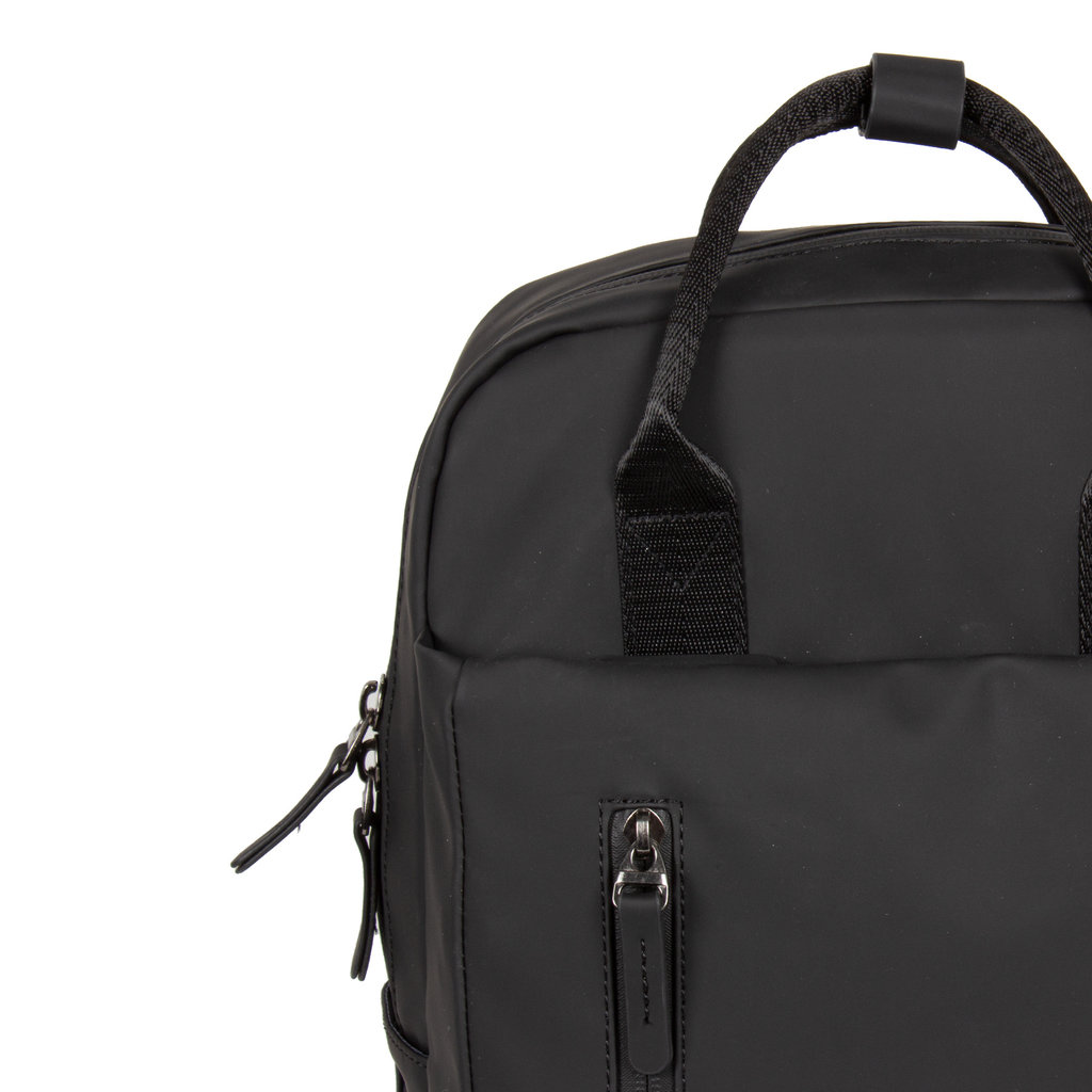 New-Rebels ® Harper - Backpack  - Laptop compartiment - 9 Liter - 28x8x38 - Schwarz