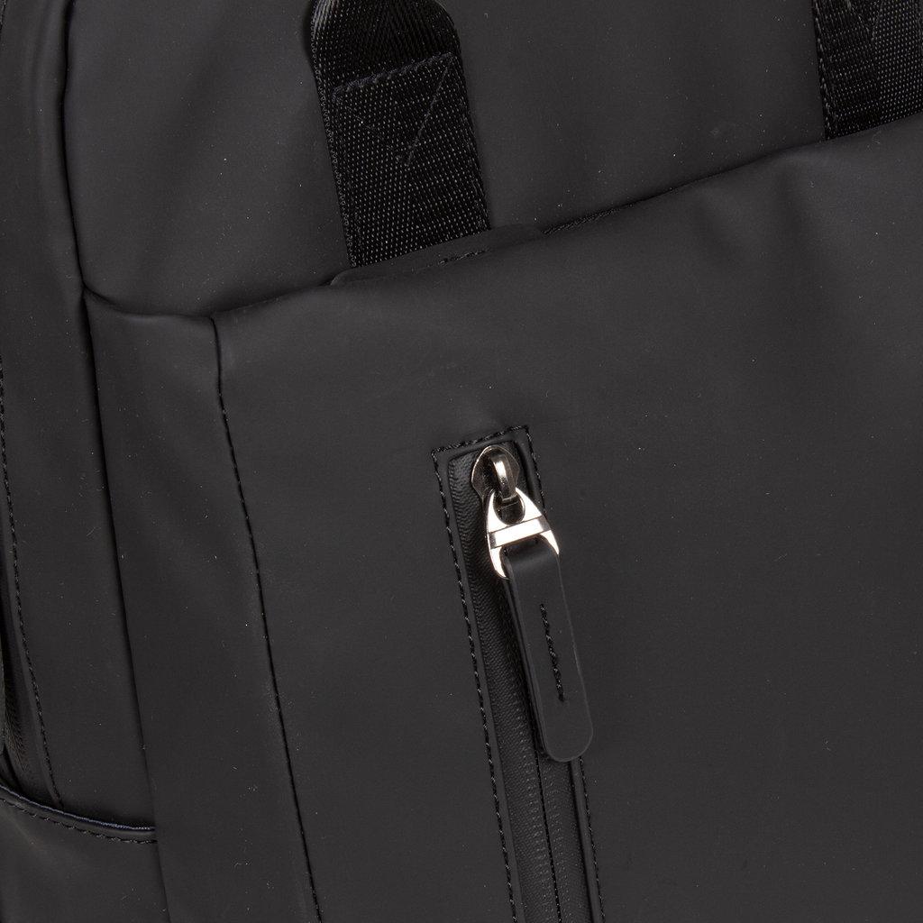New-Rebels ® Harper - Backpack - Laptoptas - Rugtas - 9 Liter - 28x8x38 - Zwart