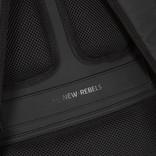 New-Rebels ® Harper - Backpack - Laptop compartiment  - 18 Liter - 44x35x50cm - Schwarz