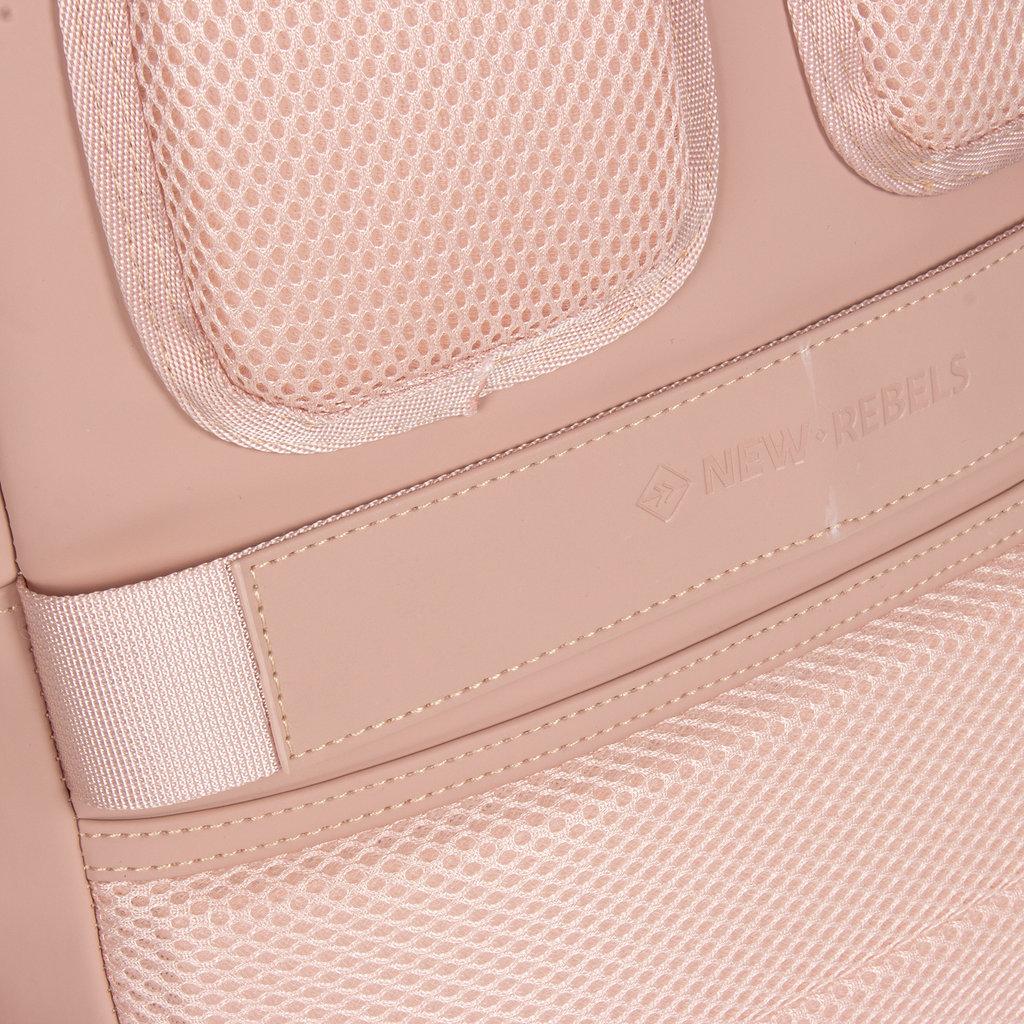 New-Rebels ® Harper - Backpack - Laptop compartiment - 11 Liter - 28x8x40 - Rosa