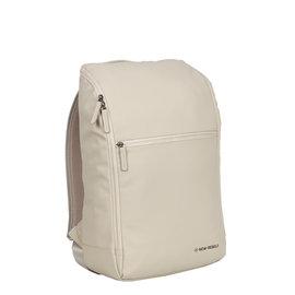 New-Rebels ® Harper - Backpack - Laptop compartiment  - 18 Liter - Beige