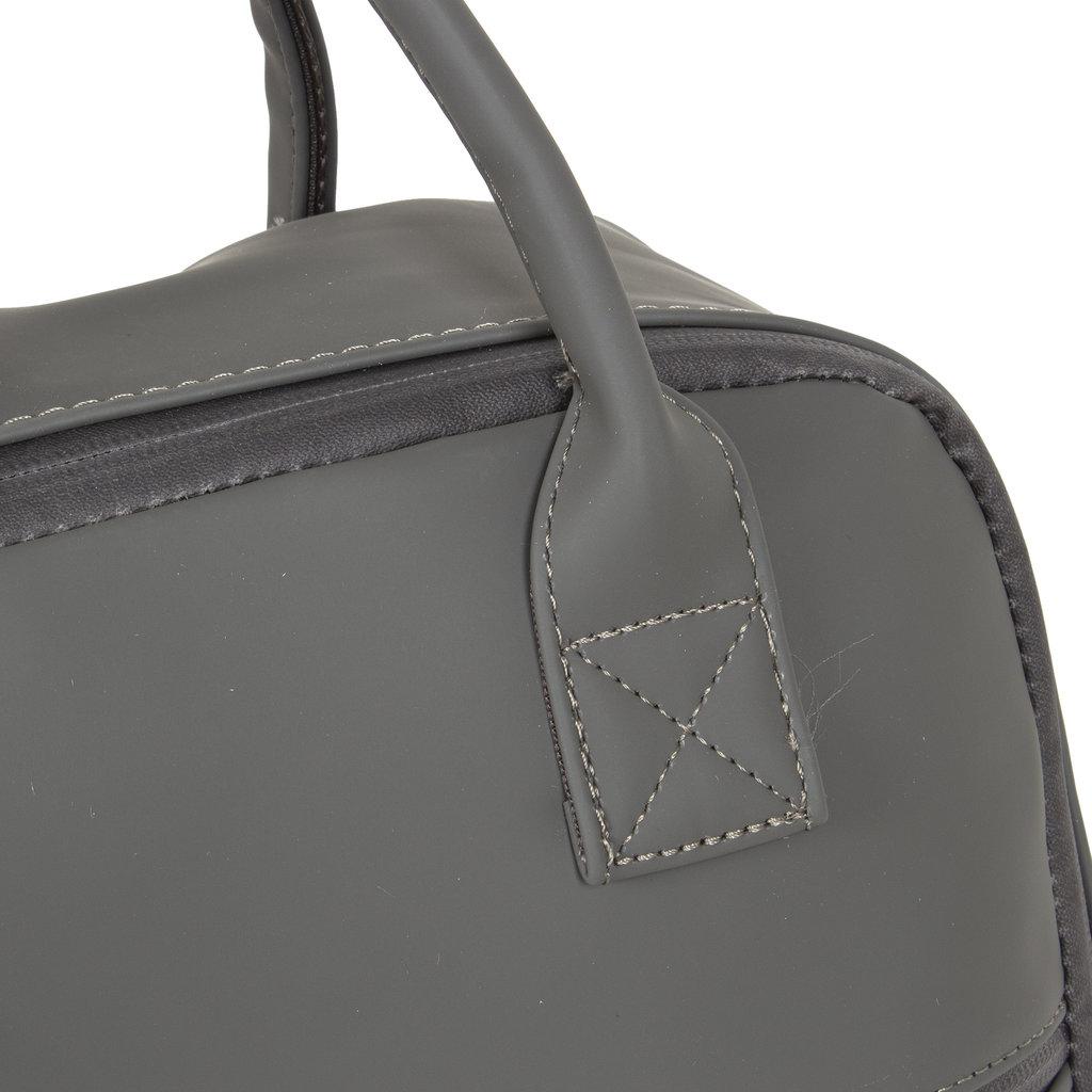 New-Rebels ® Harper - Backpack - Laptop compartiment - 12 Liter - 28x8x45 - Antracite Grey