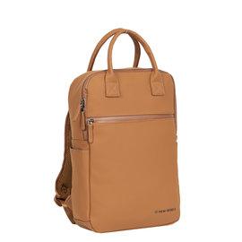 New-Rebels ® Harper - Backpack - Laptop compartiment - 12 Liter - Cognac