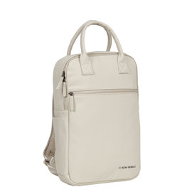 New-Rebels ® Harper - Backpack - Laptop compartiment - 12 Liter - Beige