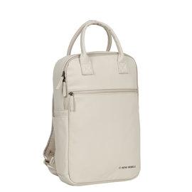 New-Rebels ® Harper - Backpack - Laptoptas - Rugtas - 12 Liter - Beige
