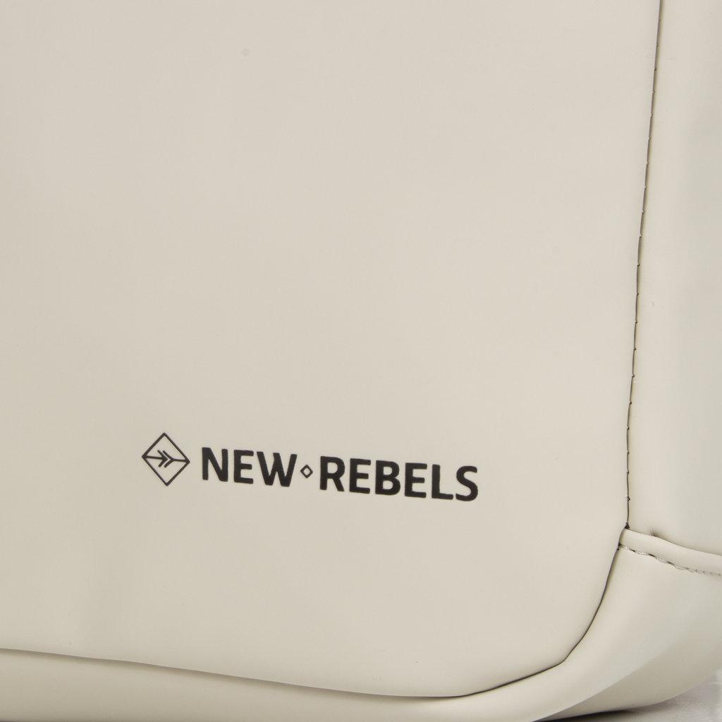New-Rebels ® Harper - Backpack - Laptoptas - Rugtas - 12 Liter - 28x8x45 - Beige
