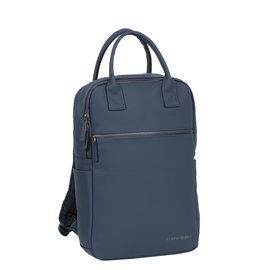 New-Rebels ® Harper - Backpack - Laptop compartiment - 12 Liter - Navy Blue