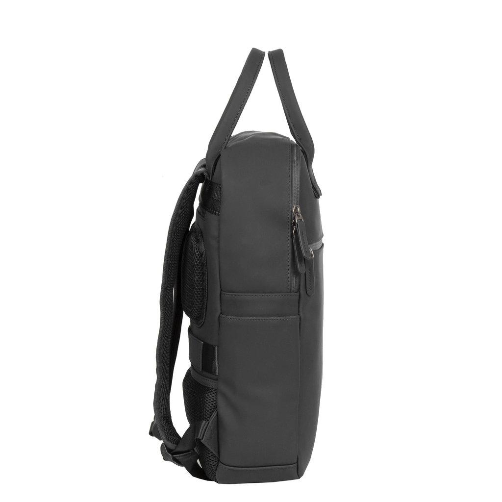 New-Rebels ® Harper - Backpack - Laptop compartiment - 12 Liter - 28x8x45 - Black
