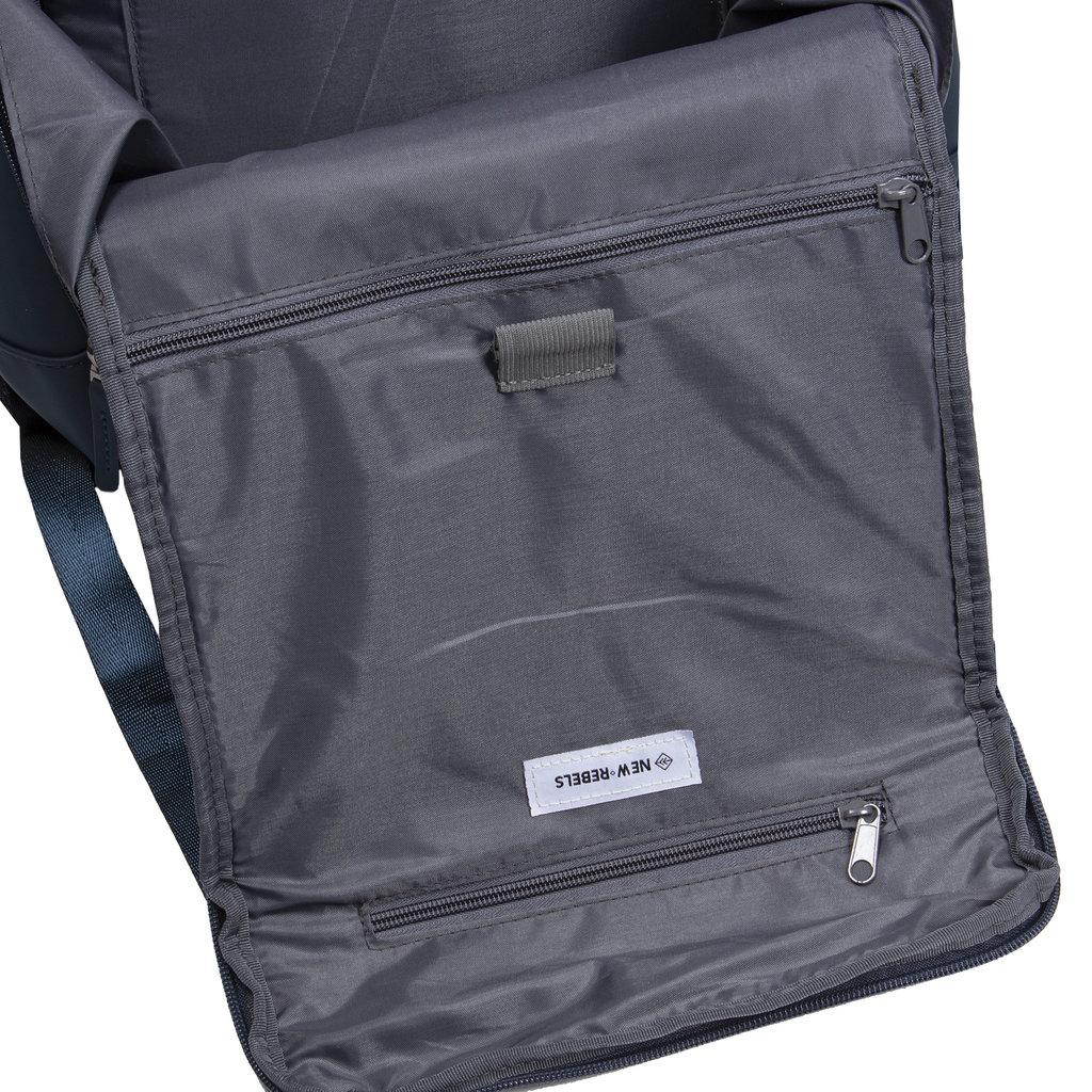 New-Rebels ® Harper - Backpack - Laptop compartiment  - 18 Liter - 44x35x50cm - Blue