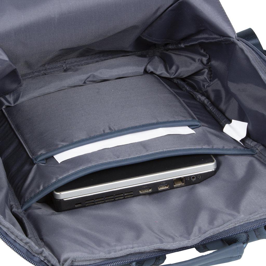 New-Rebels ® Harper - Backpack - Laptoptas - Rugtas - 18 Liter - 44x35x50cm - Blauw