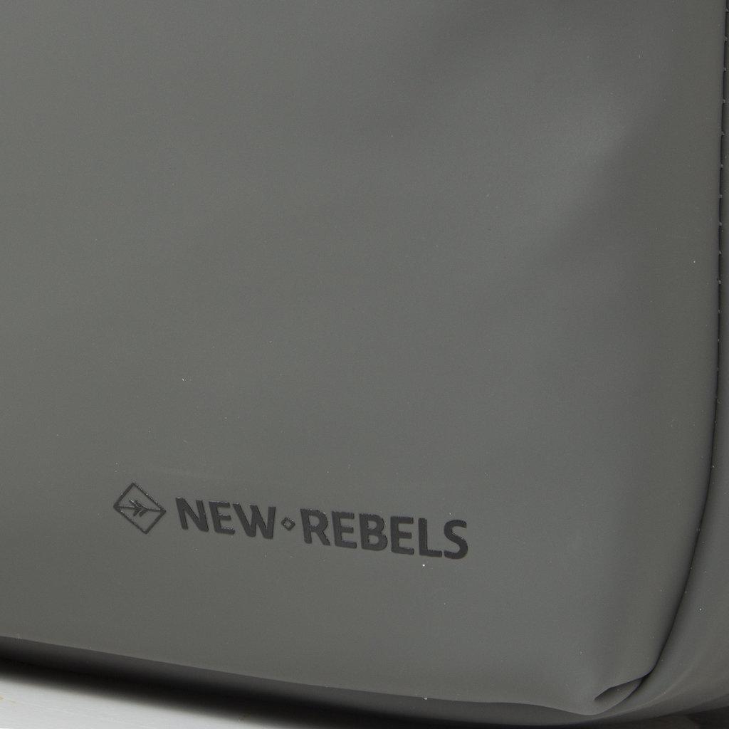 New-Rebels ® Harper - Backpack - Laptop compartiment - 11 Liter - 28x8x40 - Antracite Grey