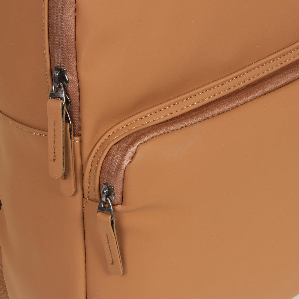 New-Rebels ® Harper - Backpack - Laptoptas - Rugtas - 11 Liter - 28x8x40 - Cognac