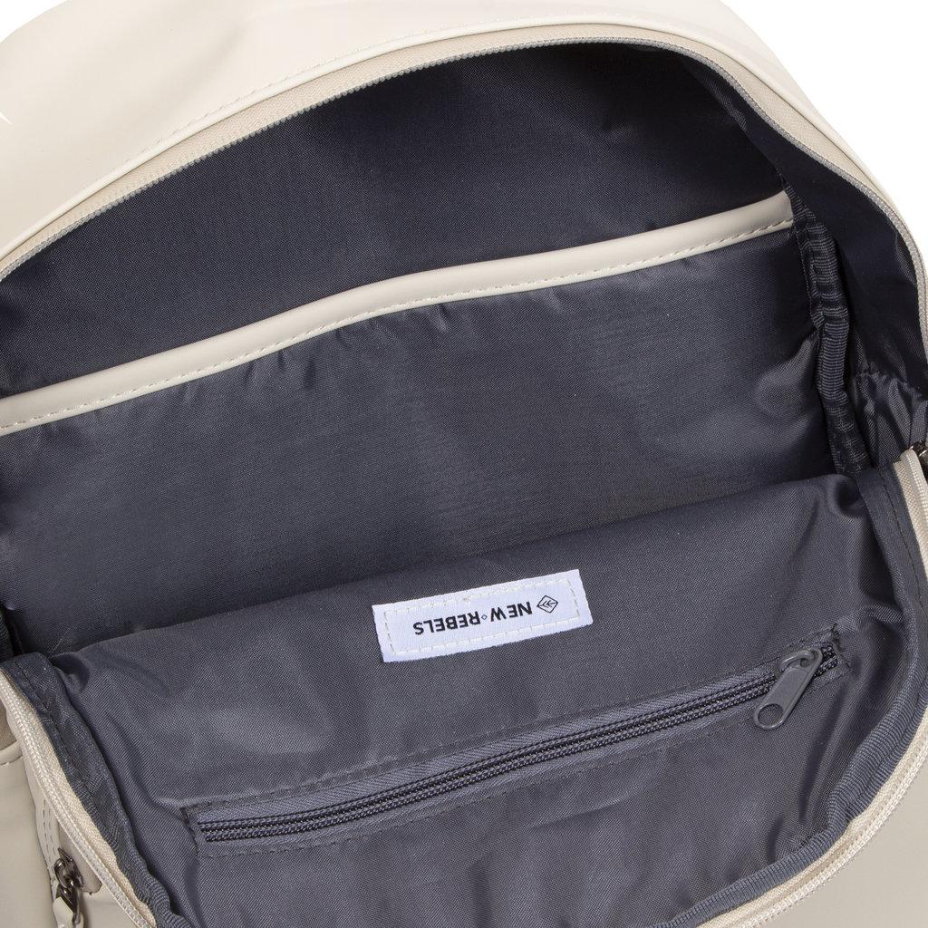 New-Rebels ® Harper - Backpack - Laptoptas - Rugtas - 11 Liter - 28x8x40 - Beige