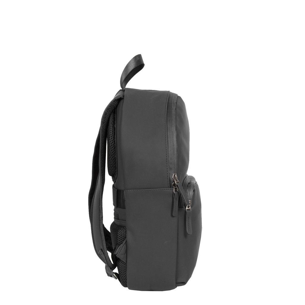 New-Rebels ® Harper - Backpack - Laptop compartiment - 11 Liter - 28x8x40 - Schwarz