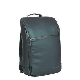 New-Rebels ® Harper - Backpack - Laptop compartiment - 18 Liter - Dark Green