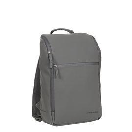 New-Rebels ® Harper - Backpack - Laptoptas - Rugtas - 18 Liter - Antraciet Grijs