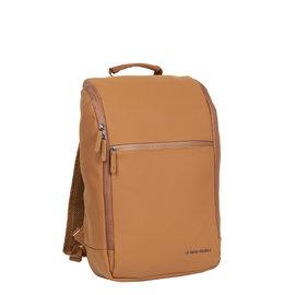 New-Rebels ® Harper - Backpack - Laptop compartiment  - 18 Liter - Cognac