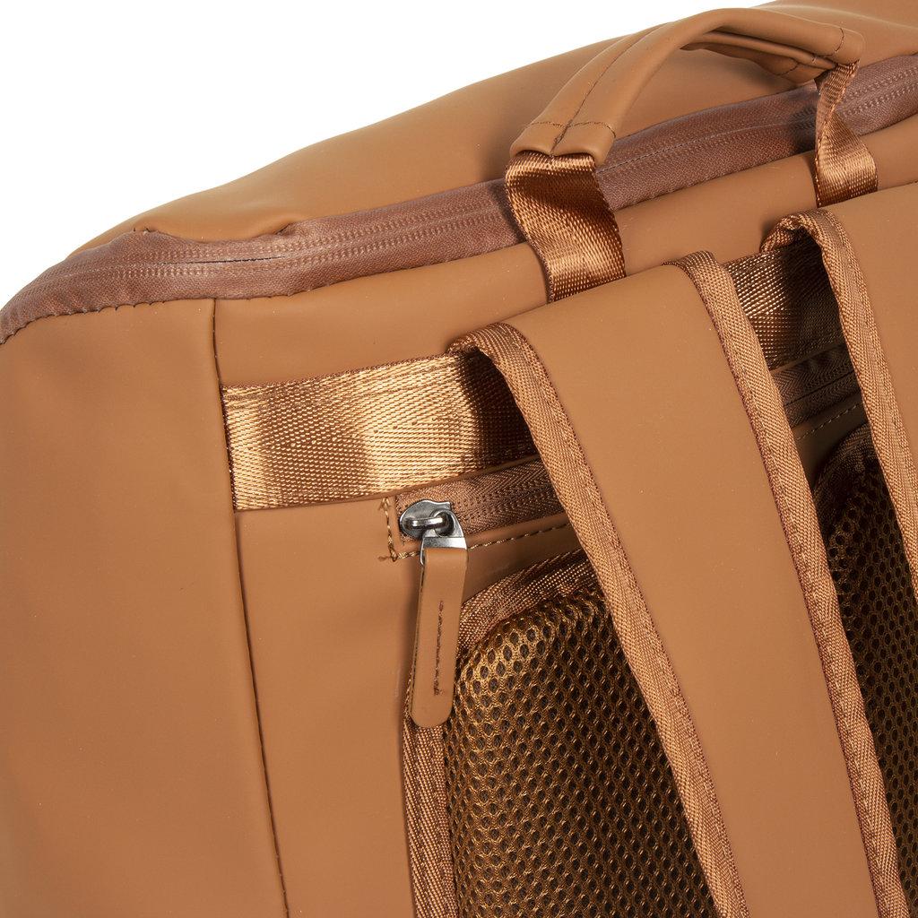 New-Rebels ® Harper - Backpack - Laptoptas - Rugtas - 18 Liter - 44x35x50cm - Cognac