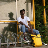 Mart Roll-Top Backpack Yellow Large II   Rucksack