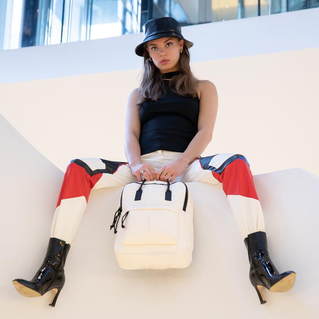 Mart PU Backpack White IV