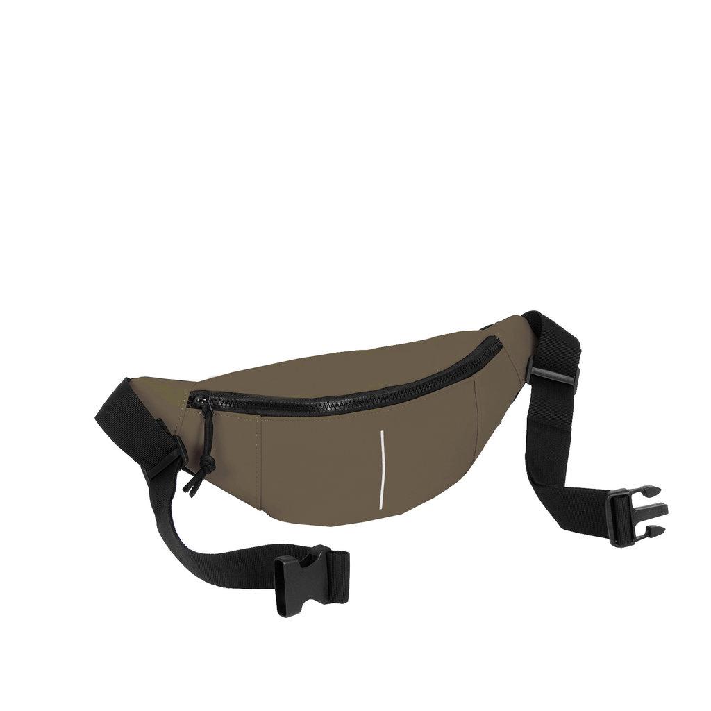 New Rebels®  - Mart - Water Repellent -  Waistbag - 22x8x12cm - Olive