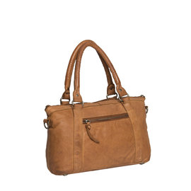 Saira Front Zip Bag Cognac IX