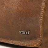 Justified Nynke - Leren Shopper Tas - Laptoptas 15,6 Inch - Cognac