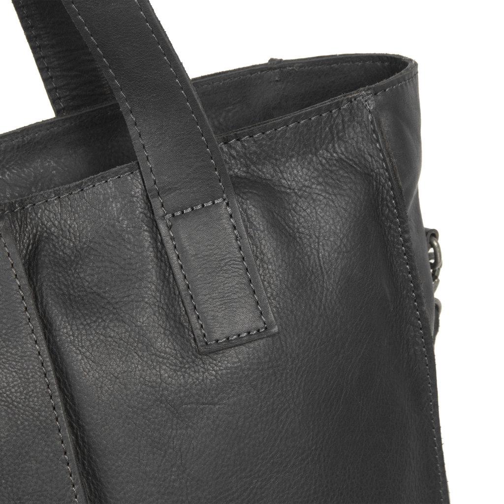 Justified Bags®  Nynke Shopper Laptop Black