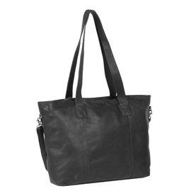 Justified Bags®Nynke Big Shopper Long Black XV