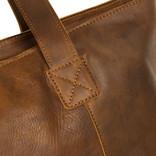 NJustified Bags® Nynke Big Shopper Long Cognac