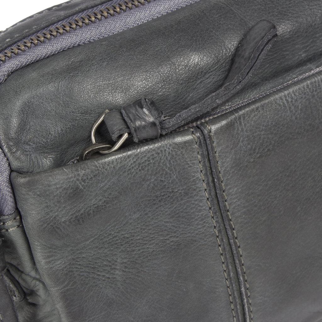 Saira Shoulderbag Top Zip & Front Zip Grey IV