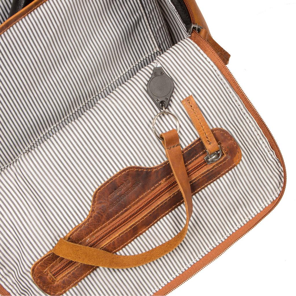 Justified Bags®  Nynke Shopper Backpack Cognac
