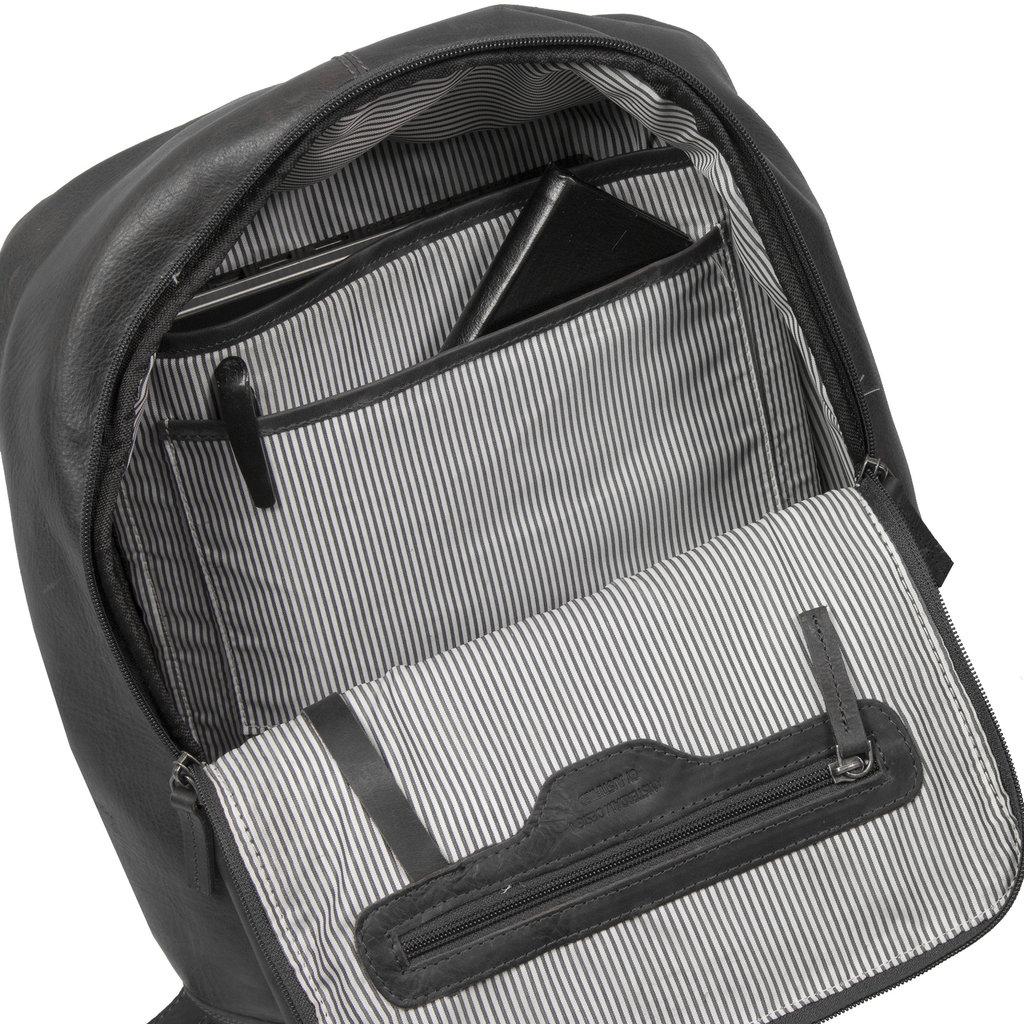 Justified Bags® Nynke Shopper Backpack Black