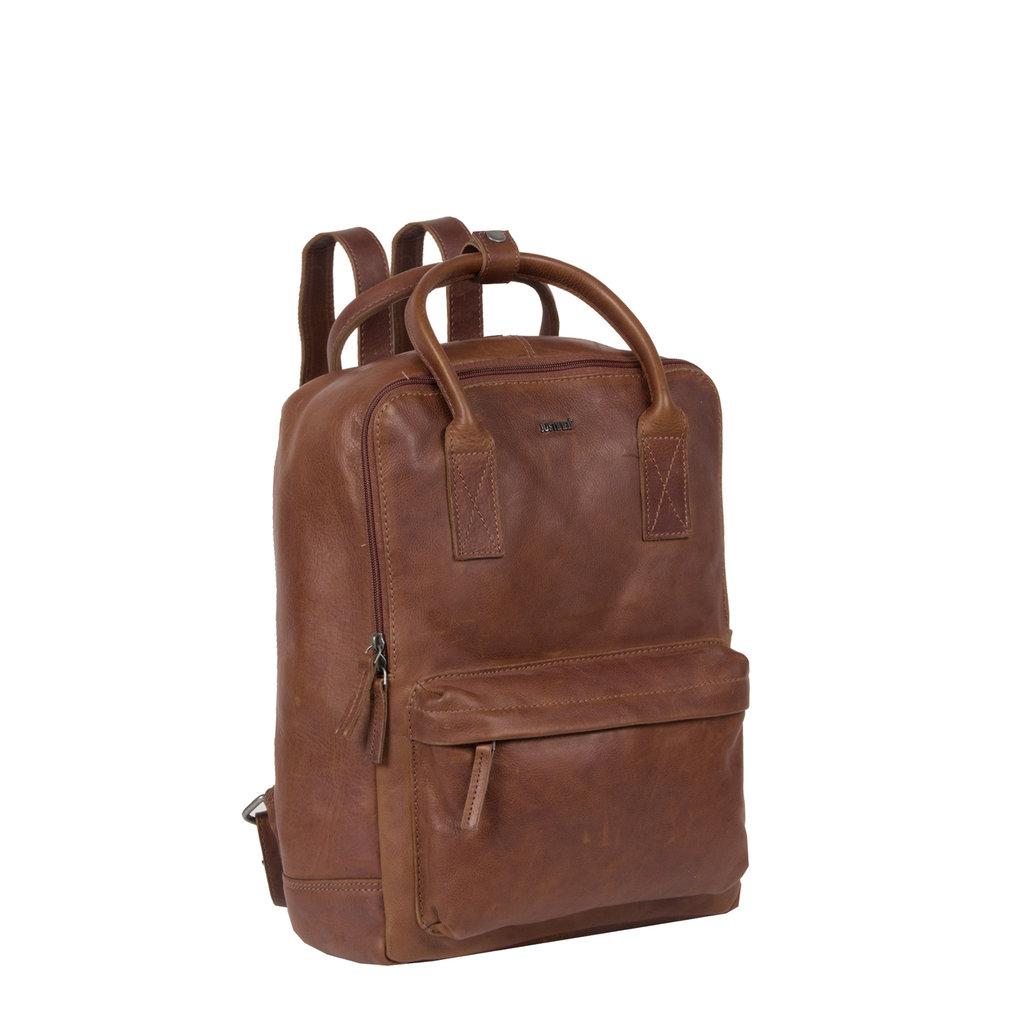 Justified Bags®  Nynke Shopper Backpack Brown