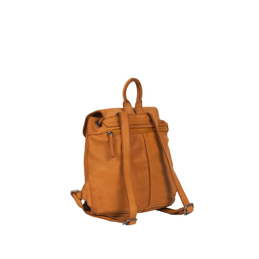 Simone City Backpack Cognac Small VII