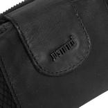 Justified® - Simone - Portemonnee- Wallet - Leer - Zwart