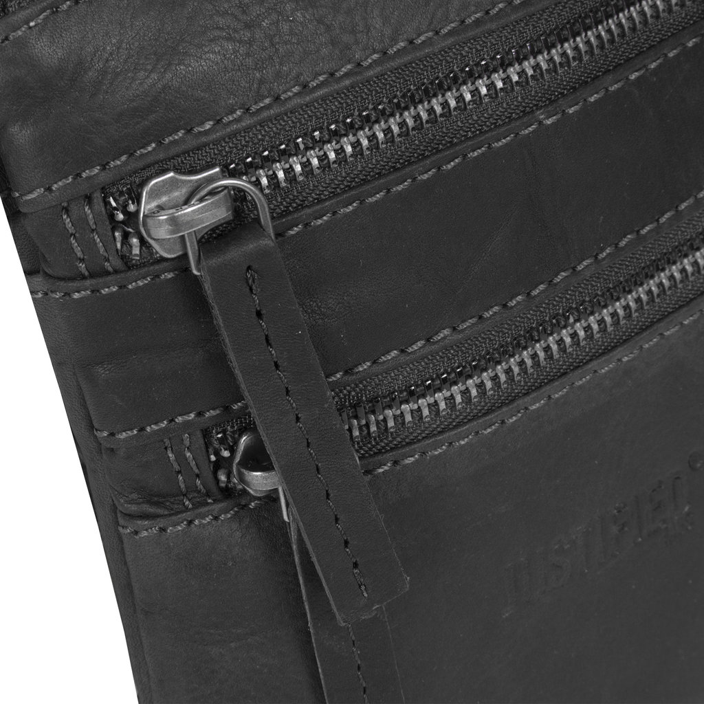 Justified Bags®   Nynke Small Disco Shoulderbag Black