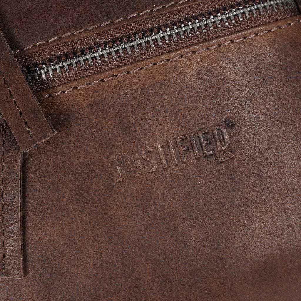 Justified Bags®  Nynke Small Disco Schoudertas Bruin