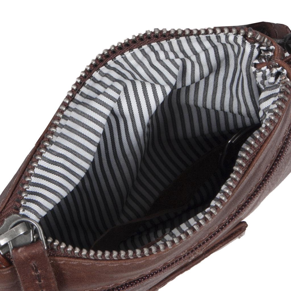 Justified Bags®  Nynke Small Disco Shoulderbag Brown