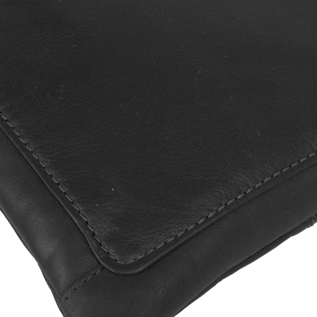 Justified Bags® Nynke Top Zip Shoulderbag Black