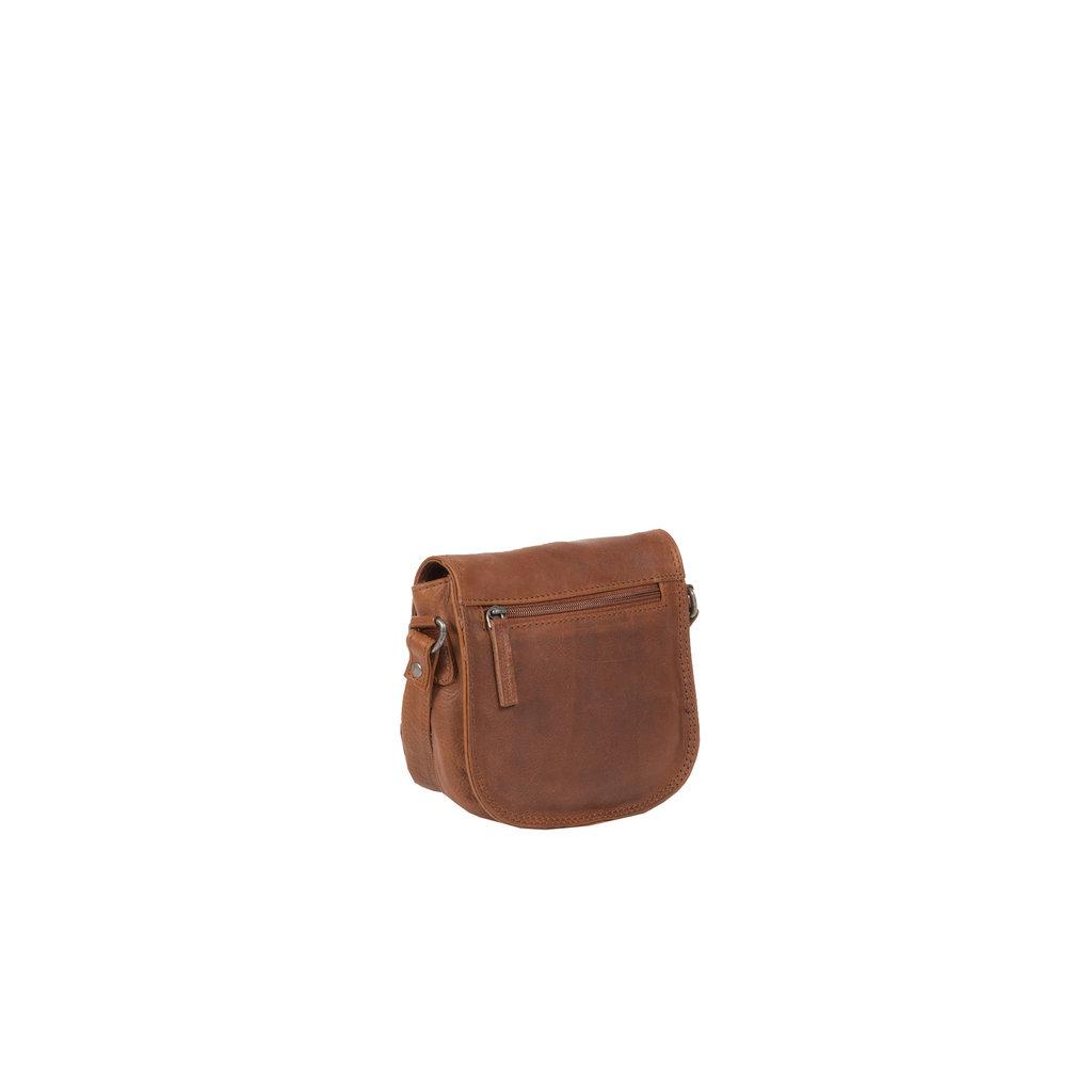 Justified Bags® Nynke Medium Flapover Shoulderbag Brown