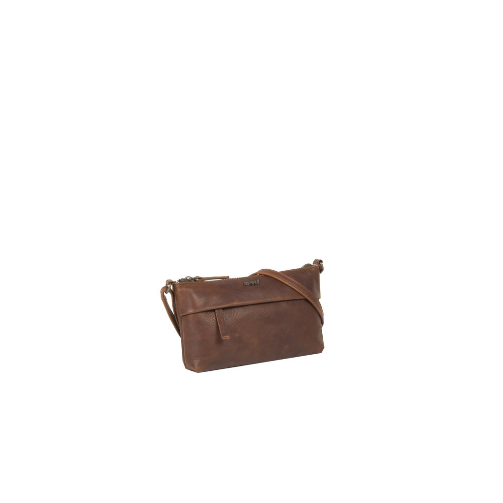 Justified Bags® Nynke Small Folded Shoulderbag Brown