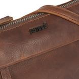 Justified Bags® Nynke Small Folded Schoudertas Bruin