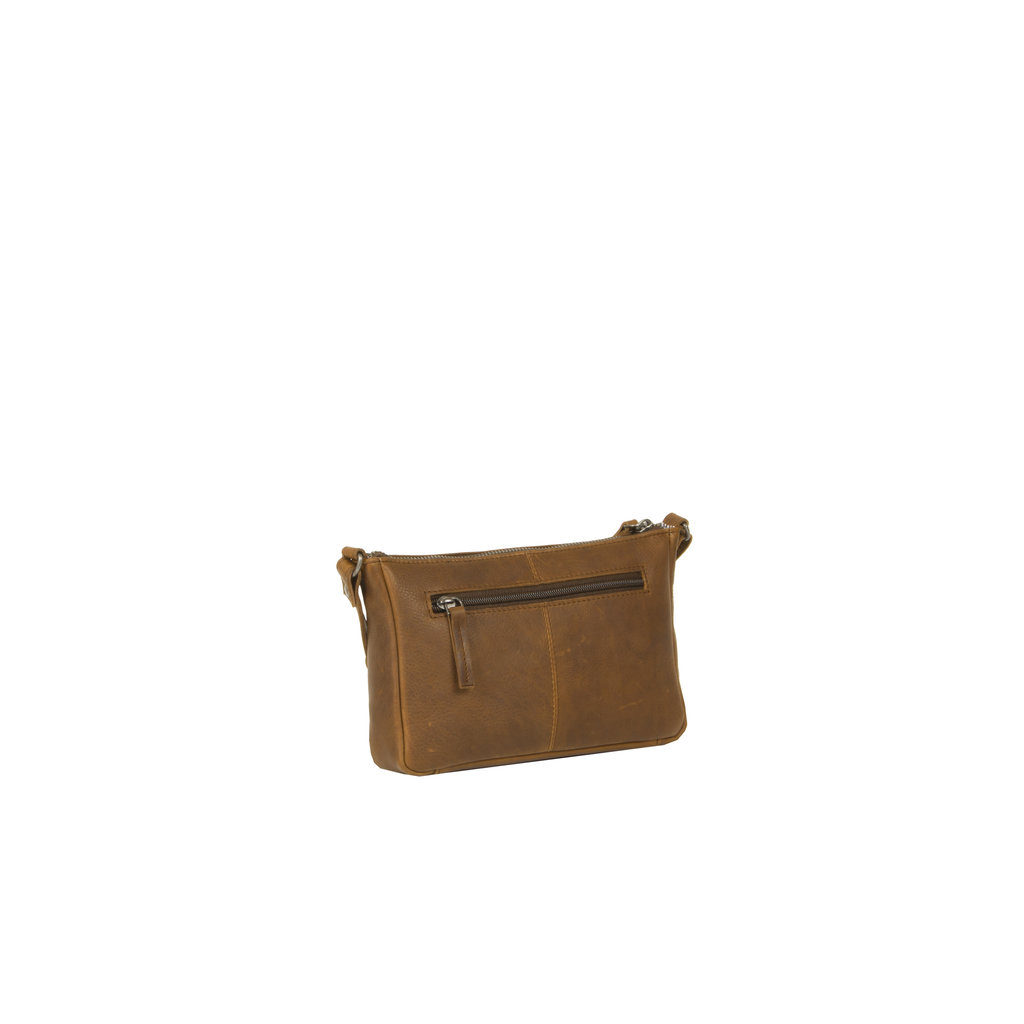 Justified Bags® Nynke Long Square Shoulderbag Cognac