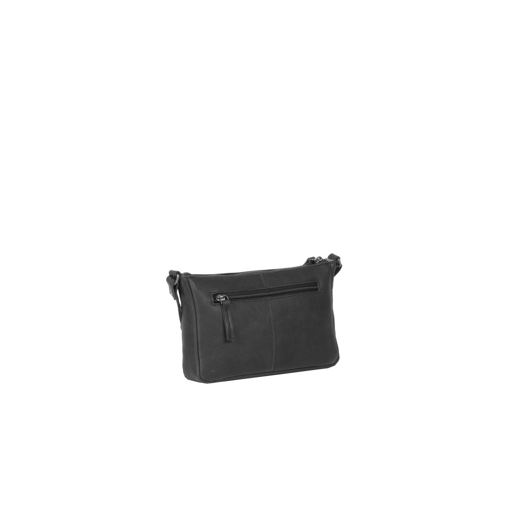 Justified Bags® Nynke Long Square Shoulderbag Black