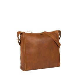 Justified Bags® Nynke Square Shoulderbag Cognac XIII