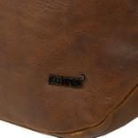 Justified Bags® Nynke Round Schoudertas Cognac