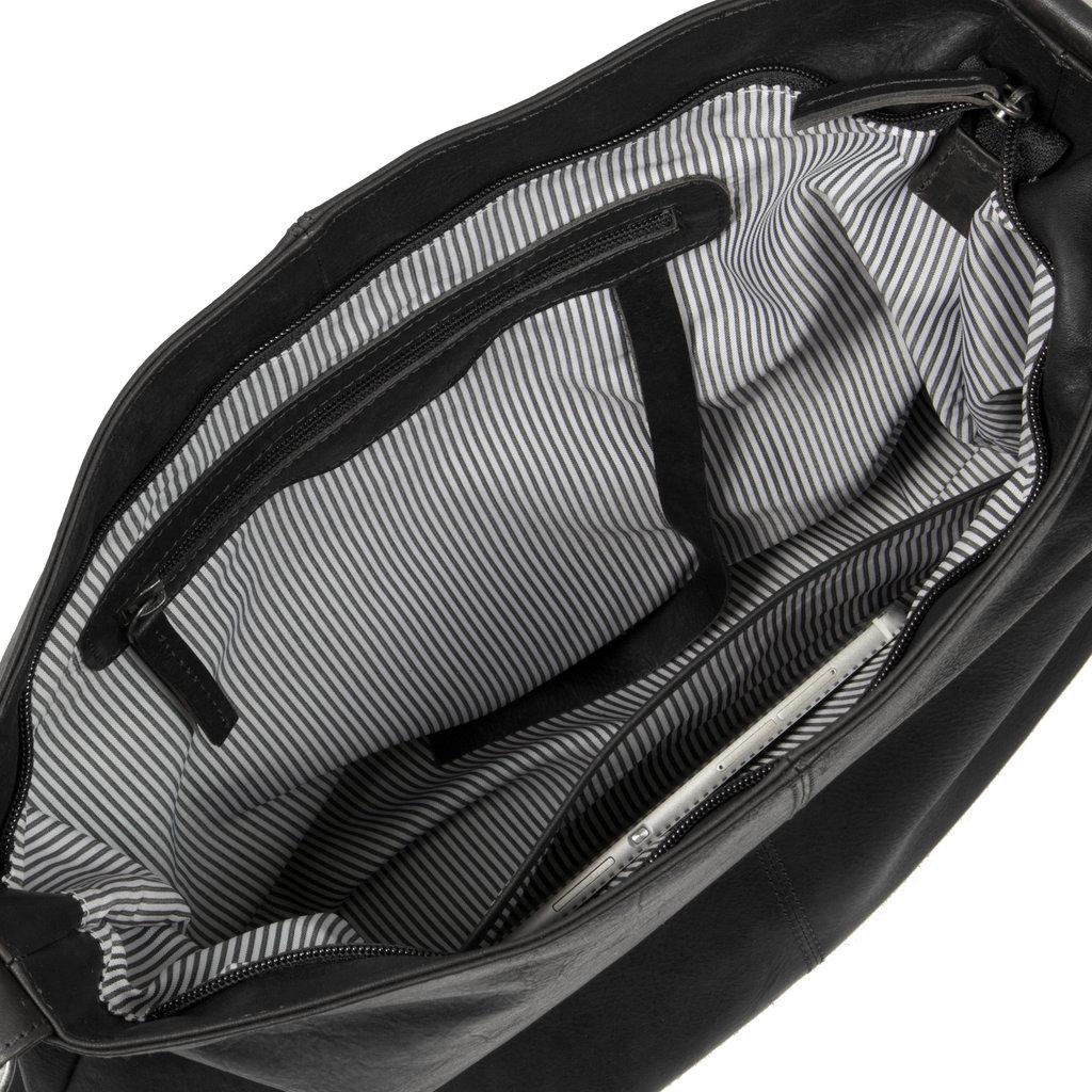 Justified Bags® Shoulderbag Black